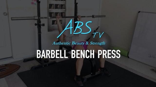 Barbell Bench Press
