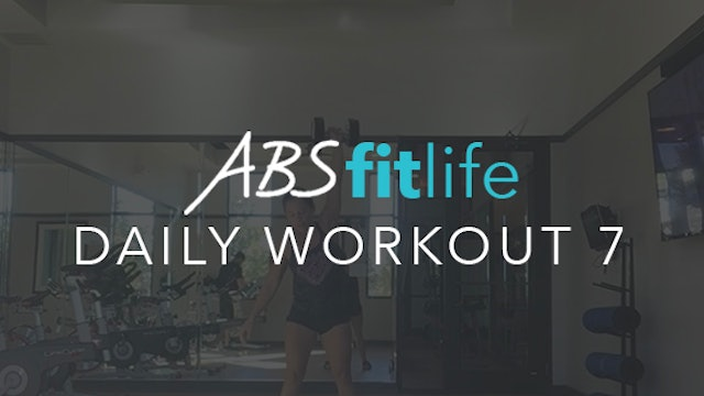 Daily Workout 7