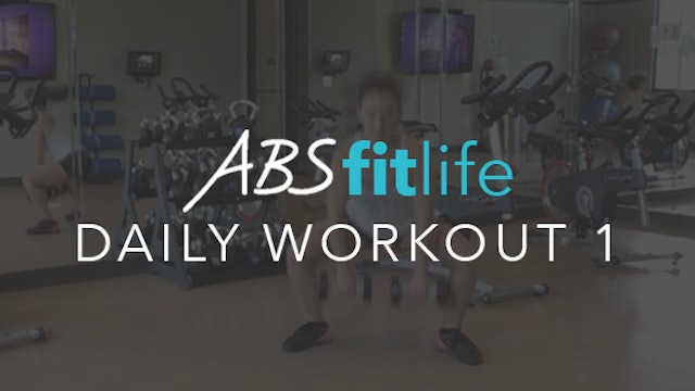 Daily Workout 1