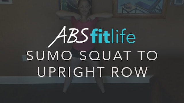 How to do SDHP or Sumo Squat to Upright Row