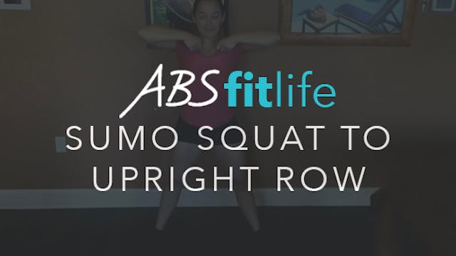How to do SDHP or Sumo Squat to Uprig...