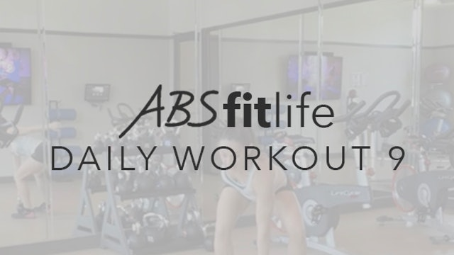 Daily Workout 9 ABS Fit Life TV