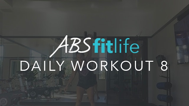 Daily Workout 8 ABS Fit Life TV