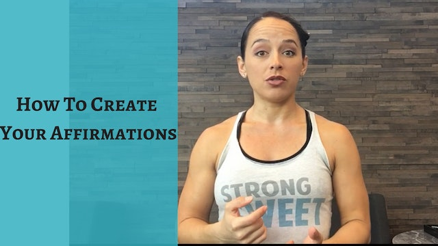 How to Create Your Affirmations