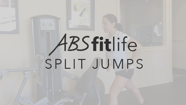 How to do lunge jumps or split jumps