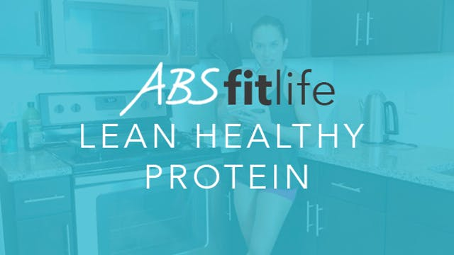 What is a lean healthy protein