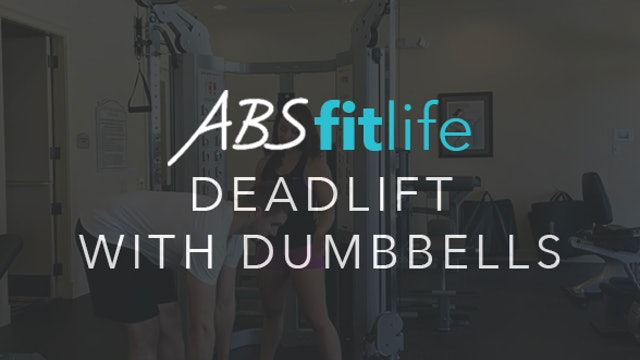 How To Do A Deadlift with Dumbbells