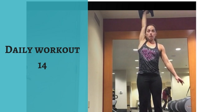 Daily Conditioning Workout 14