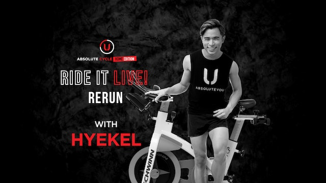 HYEKEL - ABSOLUTE 45 (Ride it LIVE on 6 October 2021)
