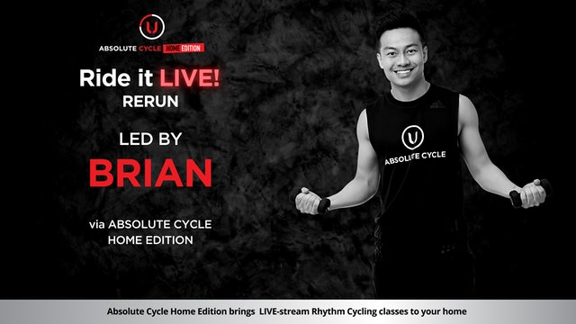 BRIAN - ABSOLUTE 45 - SELF-LOVE BOOSTER THEME (Ride it LIVE on 7 September 2021)