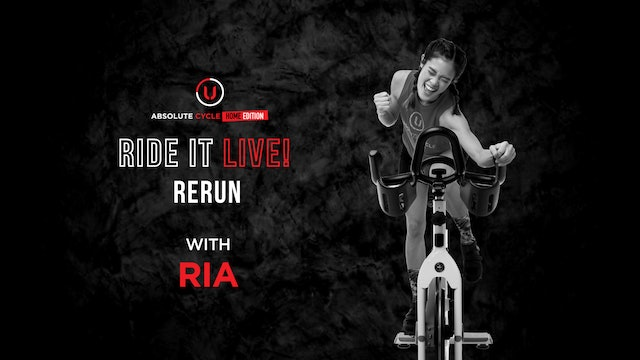RIA - ABSOLUTE 45 (Ride it LIVE on 22 October 2021)