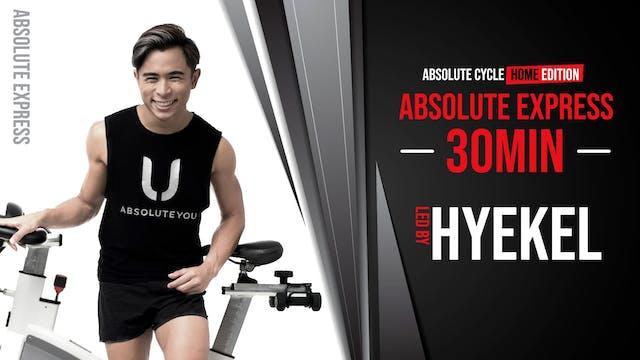 HYEKEL - ABSOLUTE EXPRESS 30 (8 Septe...