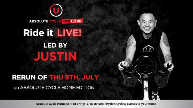 JUSTIN - ABSOLUTE 45 (Ride it LIVE on 8 July 2021)