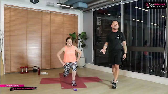 F.I.T. - Level Up Workout with Justin...