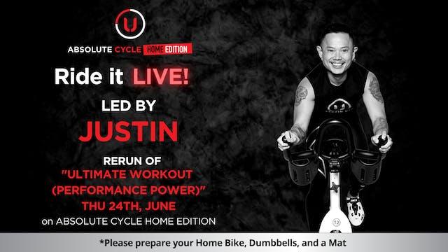 JUSTIN - Ultimate Workout (Ride it LI...