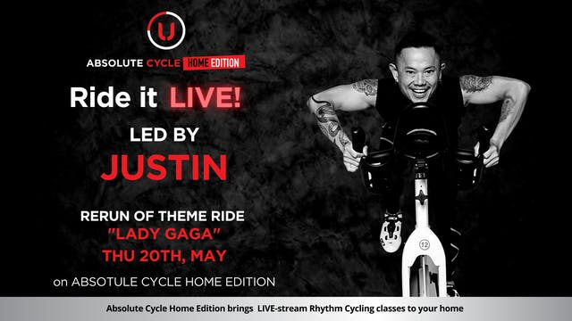 JUSTIN - ABSOLUTE 45 (Ride it LIVE on...