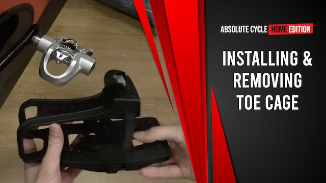 How to: Remove Toe Cage From Pedal