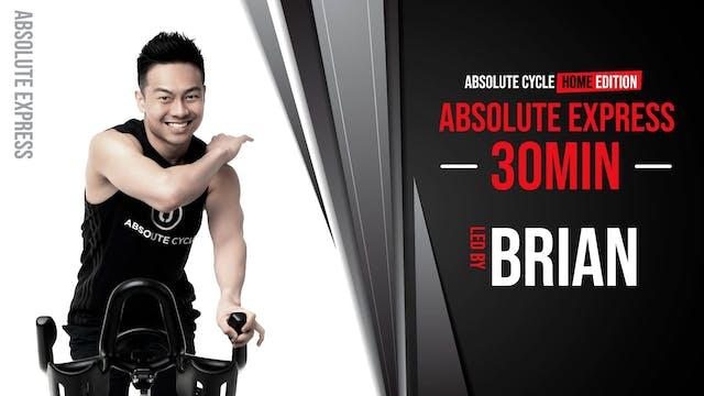 BRIAN - ABSOLUTE EXPRESS 30 (9 Septem...