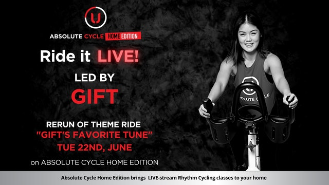GIFT - ABSOLUTE 45 (Ride it LIVE on 22 June 2021)