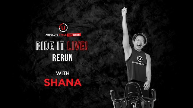 SHANA - ABSOLUTE 45 (Ride it LIVE on 8 October 2021)