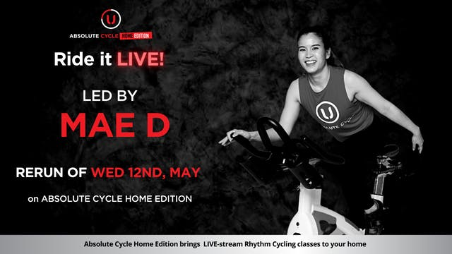 Mae D -  ABSOLUTE 45 (Ride it LIVE on...