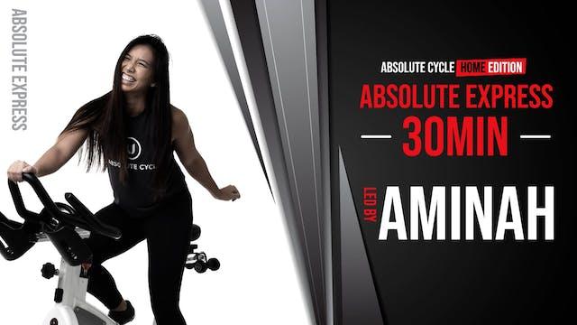 AMINAH - ABSOLUTE EXPRESS 30 (29 Sept...