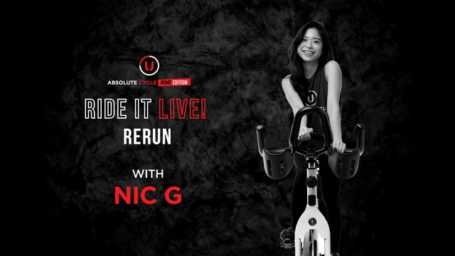 NIC G - ABSOLUTE 45 (Ride it LIVE on 11 October 2021)
