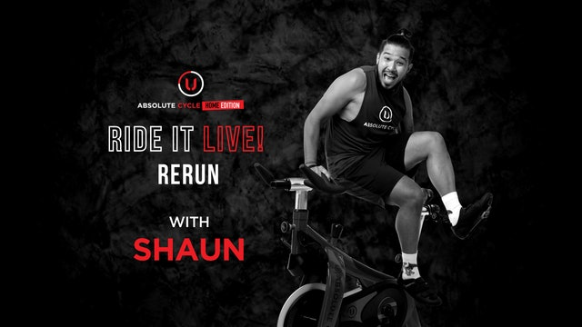 SHAUN - ABSOLUTE 45 (Ride it LIVE on 13 October 2021)