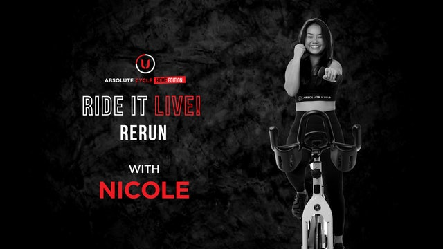 NICOLE - ABSOLUTE 45 (Ride it LIVE on 7 October 2021)