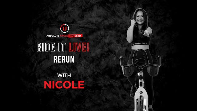 NICOLE - ABSOLUTE 45 (Ride it LIVE on...