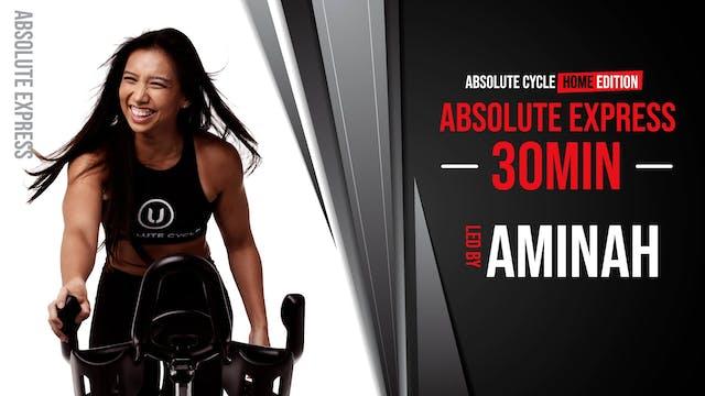 AMINAH - ABSOLUTE EXPRESS 30 (17 Sept...