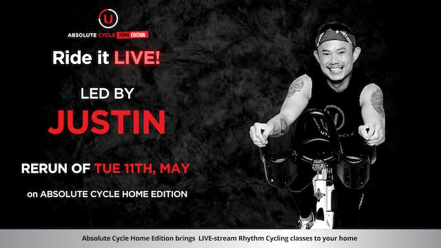JUSTIN -  ABSOLUTE 45 (Ride it LIVE o...