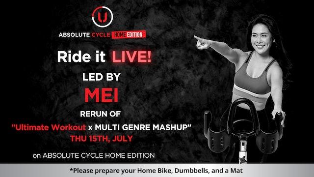 MEI - ABSOLUTE 45 (Ride it LIVE on 15 July 2021)