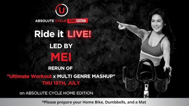 MEI - ABSOLUTE 45 (Ride it LIVE on 15...