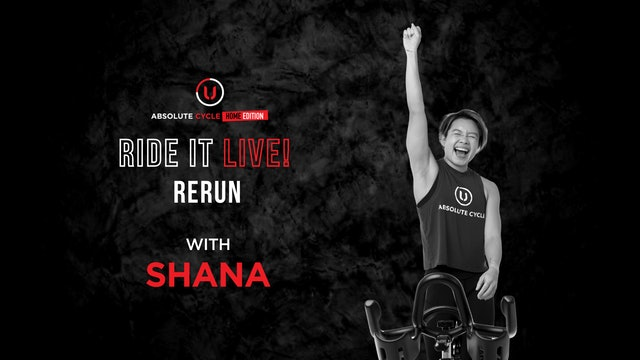 SHANA - ABSOLUTE 45 (Ride it LIVE on 23 September 2021)