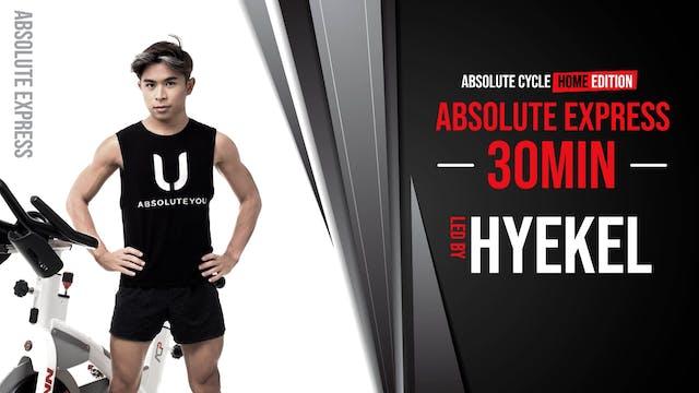 HYEKEL - ABSOLUTE EXPRESS 30 (30 Sept...