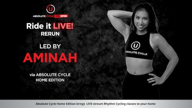 AMINAH - ABSOLUTE 45 (Ride it LIVE on...
