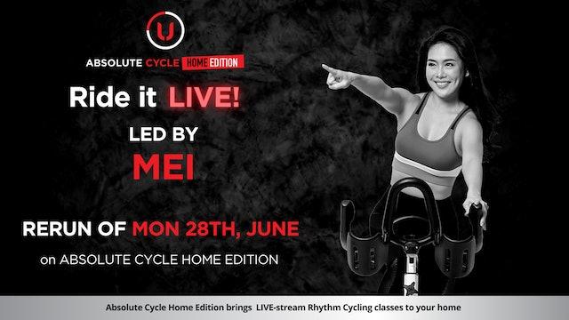 MEI - ABSOLUTE 45 (Ride it LIVE on 28 June 2021)
