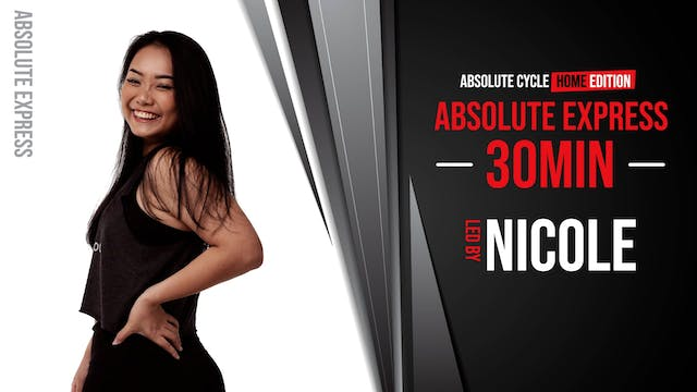 NICOLE - ABSOLUTE EXPRESS 30 (13 Octo...