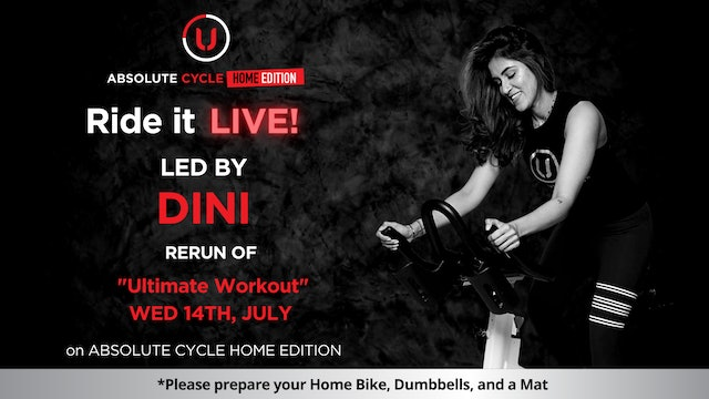 DINI - ABSOLUTE 45 (Ride it LIVE on 14 July 2021)