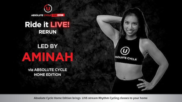 AMINAH - ABSOLUTE 45 (Ride it LIVE on 23 July 2021)