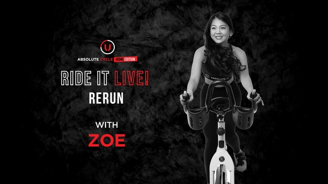 ZOE - ABSOLUTE 45 (Ride it LIVE on 1 October 2021)