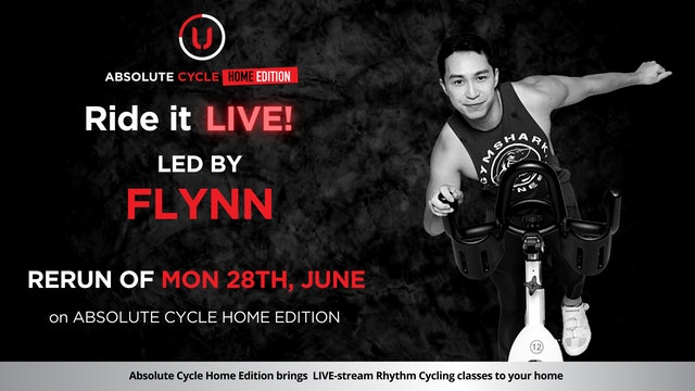 FLYNN - ABSOLUTE 45 (Ride it LIVE on 28 June 2021)