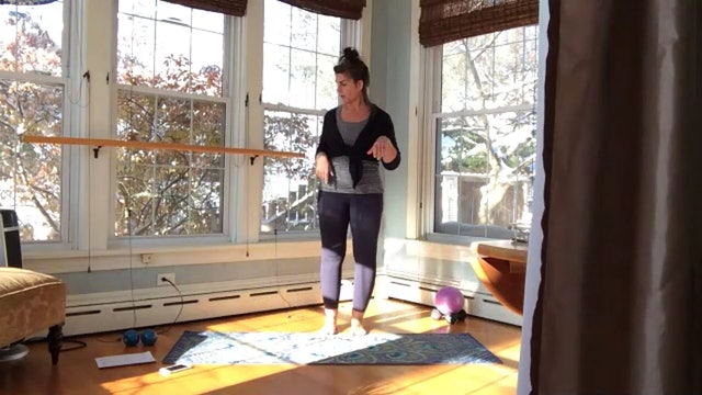 Pilates Legs and Arms with Lynette