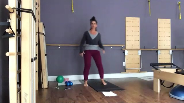Barre with Lynette 6/13/2021