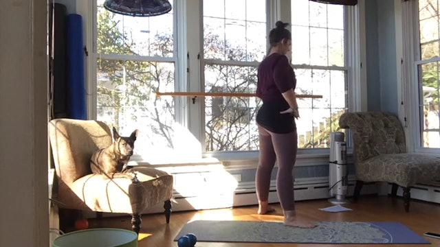 Barre and Restore with Lynnette 3/13/2021