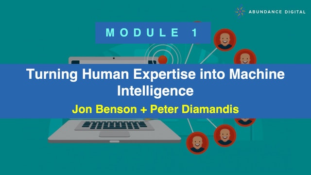 Copy Pro: Module 1 - Turning Human Expertise into Machine Intelligence