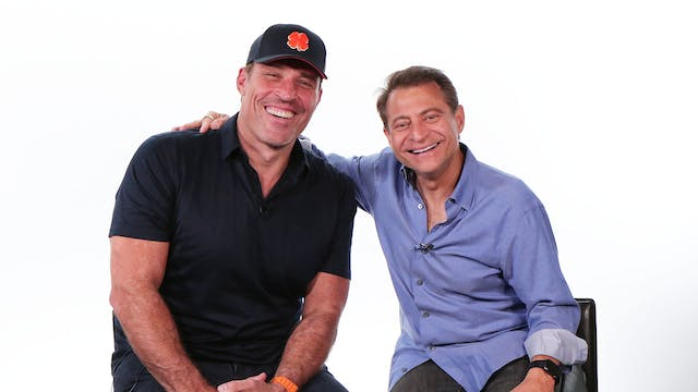 Tony Robbins + Mindsets and Moonshots