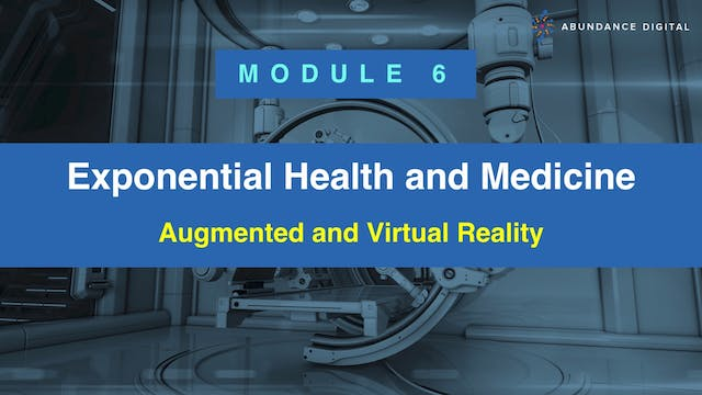 Module 6: Augmented and Virtual Reality