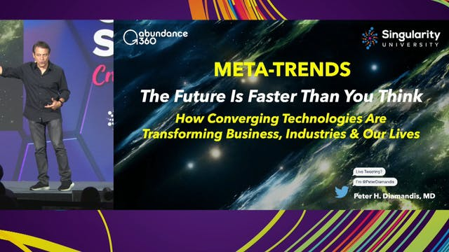 Peter Diamandis: Meta-Trends